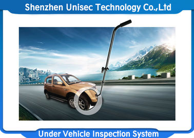 Outdoor Painting Under Vehicle Search Mirror With Black Rods Color