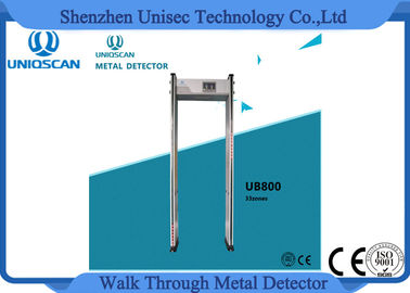 الصين CE/ISO certificated security walk through metal detector archway detector موزع